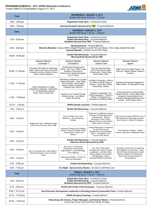 2009 statewide conference agenda 03_02_09.indd