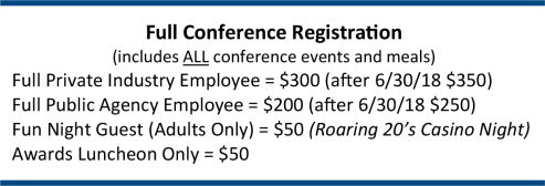 Registration Prices